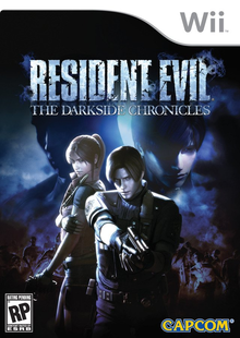 Box art for the game Resident Evil: The Darkside Chronicles