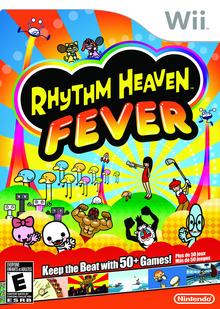 Box art for the game Rhythm Heaven Fever