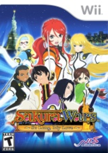 Box art for the game Sakura Wars: So Long, My Love