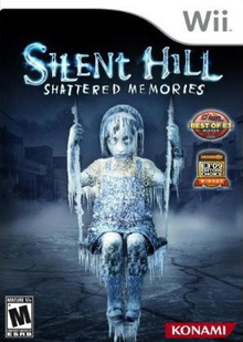 Box art for the game Silent Hill: Shattered Memories