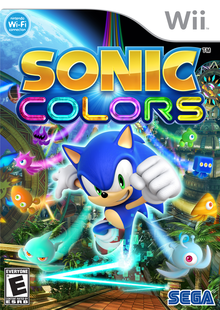 Box art for the game Sonic Colors