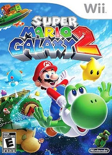 Box art for the game Super Mario Galaxy 2