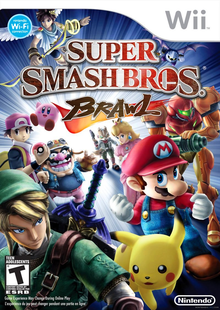 Box art for the game Super Smash Bros. Brawl