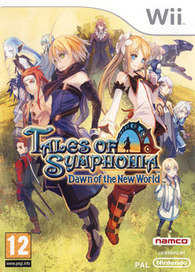 Box art for the game Tales of Symphonia: Dawn of the New World