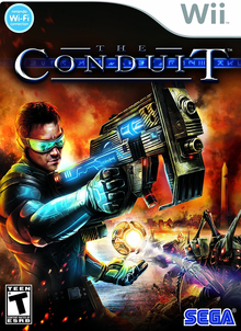 Box art for the game The Conduit