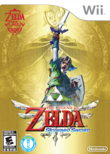 Capa do jogo The Legend of Zelda: Skyward Sword