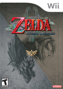 Box art for the game The Legend of Zelda: Twilight Princess