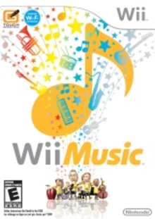 Box art for the game Wii Music