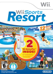 Box art for the game Wii Sports Resort