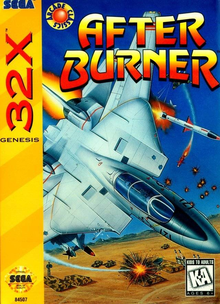 Box art for the game After Burner