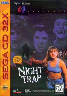 Box art for the game Night Trap