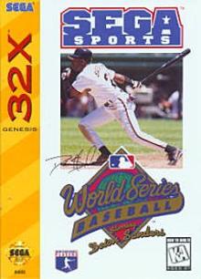Box art for the game World Series Baseball '95