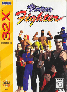Box art for the game Virtua Fighter