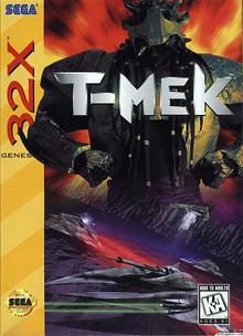 Box art for the game T-Mek
