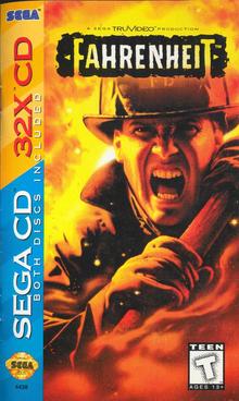 Capa do jogo Fahrenheit