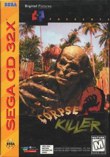 Box art for the game Corpse Killer