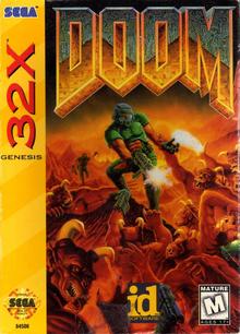 Box art for the game Doom