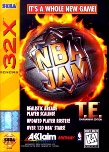 Box art for the game NBA Jam Tournament Edition