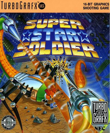 Box art for the game Super Star Soldier