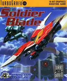 Box art for the game Soldier Blade