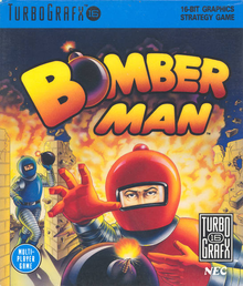 Box art for the game Bomberman