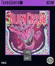 Box art for the game Alien Crush