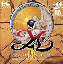 Box art for the game Ys IV: The Dawn of Ys