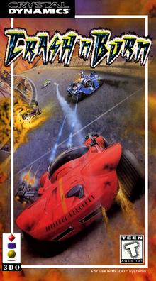 Box art for the game Crash 'N Burn