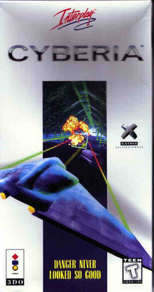 Box art for the game Cyberia