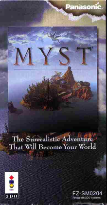 Box art for the game Myst