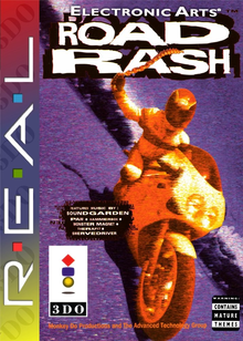 Box art for the game Road Rash