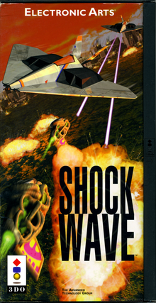 Box art for the game Shockwave