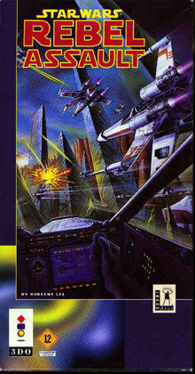 Box art for the game Star Wars: Rebel Assault