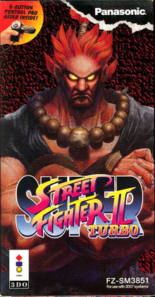 Box art for the game Super Street Fighter II Turbo