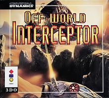Box art for the game Off-World Interceptor