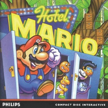 Box art for the game Hotel Mario