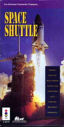 Box art for the game Space Shuttle