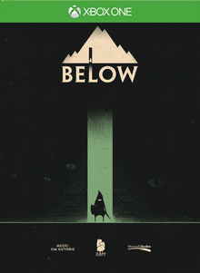 Box art for the game Below