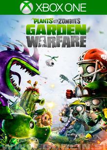 Box art for the game Plants Vs. Zombies: Garden Warfare
