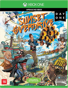 Box art for the game Sunset Overdrive