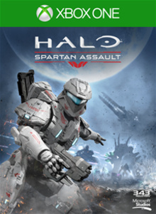 Box art for the game Halo: Spartan Assault