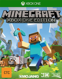 Box art for the game Minecraft - Xbox One Edition