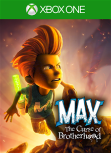 Box art for the game Max: The Curse of Brotherhood
