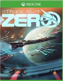 Box art for the game Strike Suit Zero