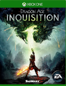 Box art for the game Dragon Age Inquisition
