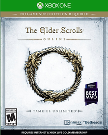 Box art for the game The Elder Scrolls Online