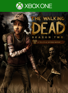 Box art for the game The Walking Dead Season Two