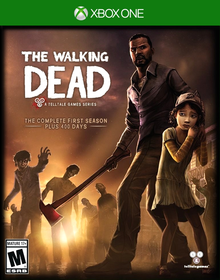 Box art for the game The Walking Dead: The Complete First Season