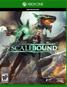 Box art for the game Scalebound