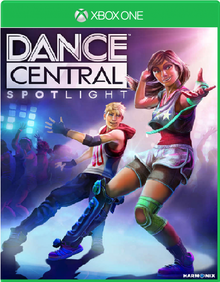 Box art for the game Dance Central: Spotlight